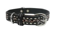 Angel Pet Supplies - Laredo Elite Collar - Black - 16 X 3/4 Inch