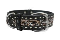 Angel Pet Supplies - Laredo Elite Collar - Black - 24 X 1.5 Inch