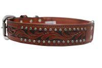 Angel Pet Supplies - Mesa Elite Collar - Brown - 24 X 1.5 Inch