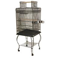A&E Cage Company - Economy Play Top Bird Cage -  600H GRAY - 20 x 20 x 58 Inch