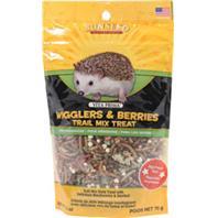 Sunseed Company - Vita Prima Hedgehog Treat - Wigglers & Berries - 2.5 oz