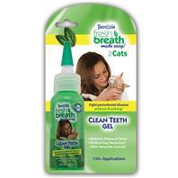 Tropiclean - Fresh Breath Clean Teeth Gel For Cats - 2 oz