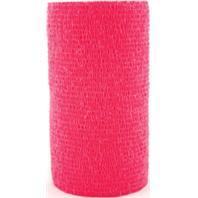 3M - Vetrap Bandaging Tape - Red - 4 Inch x 5 Yard