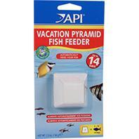 Aquarium Pharmaceuticals - Vacation Pyramid Fish Feeder-  1 PACK/14 DAY