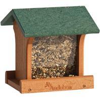 Audubon/Woodlink - Bird Feeder Recycle Plastic - Green - 10 x 8 x 8 Inch