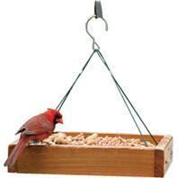Audubon/Woodlink - Hanging Platform Feeder - Tan - 13 X 13 X 2.5 Inch
