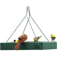 Audubon/Woodlink - Go Green Platform Feeder - Green - 12.75 x 12.75 x 2.5 Inch