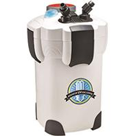 Aquatop Aquatic Supplies - 4 Stage Canister Filter With Uv Sterilizer -  75 To 125 Gallon