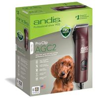 Andis - Proclip Agc Super 2-Speed Clipper For Pets - MAROON 3400-4400 SPM