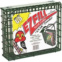 C AND S Products - Ez Fill Snack Basket - Green - 8.75 Inch