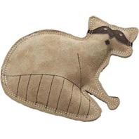 Ethical Dog - Dura-Fused Leather Raccoon - Brown - Small