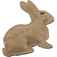 Ethical Dog - Dura-Fused Leather Rabbit - Brown - Small