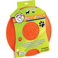 Jolly Pets - Jolly Flyer - Orange - 7.5 Inch