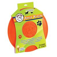 Jolly Pets - Jolly Flyer - Orange - 9.5 Inch