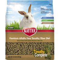 Kaytee Products - Timothy Complete Rabbit Food - 4.5 Lb