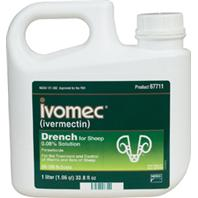 Merial - Wormer Ivomec Sheep Drench - 1 Lt