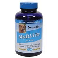 Nutri-Vet - Multi-Vite Chewables - 120 Count