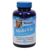 Nutri-Vet - Multi-Vite Chewables - 120 Count