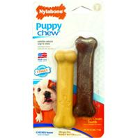 Nylabone - Puppy Chew Twin Pack - Chicken/Peanut Butter - Petite