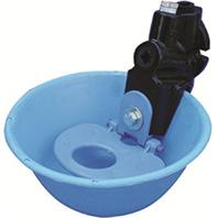 SMB Mfg - Nylon Nose Pan Water Bowl For Cattle - Blue - 14 Liters/MIN