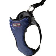Solvit Products - Deluxe Safety Harness - Blue - Medium