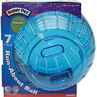 Super Pet - Dazzle Run-About Ball - Assorted - 7 Inch