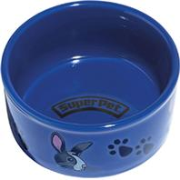 Super Pet - Bunny Paw Print Petware - 4.25 Inch
