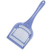 Van Ness - Long Handled Litter Scoop - Blue - 15.2x6.2x3 Inch
