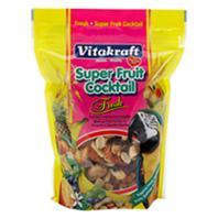 Vitakraft - Super Fruit Cocktail -Parrot/cockatiel - Honey - 1.76 oz/4 Pack