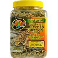 Zoo Med - Natural Juvenile Bearded Dragon Food - Juvenile - 10 oz