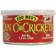 Zoo Med - Can O Crickets Mini Size  - 1.2 oz