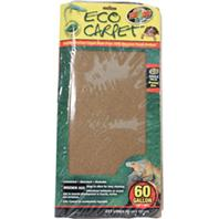 Zoo Med - Eco Carpet Reptile Terrarium Liner - Green / Brown 60 Gallon
