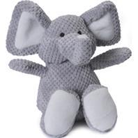 Quaker Pet Group - Godog Checkers Elephant - Gray - Large