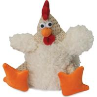 Quaker Pet Group - Godog Checkers Rooster - White - Small