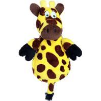 Quaker Pet Group - Hear Doggy Flat Ultrasonic Dog Toy - Giraffe