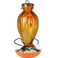 Audubon/Woodlink - Glass Oriole Feeder - Orange - 20 oz