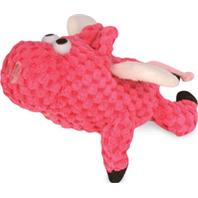 Quaker Pet Group - Godog Just For Me Checkers Flying Pig - Pink