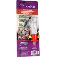 Audubon/Woodlink - Garden Stake Hummingbird Feeder - Red - 3 oz