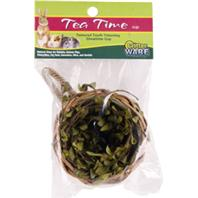 Ware Mfg - Tea Time Cup Natural Chew For Small Animals - Natural