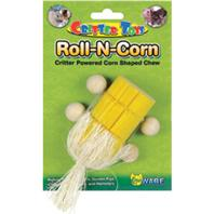 Ware Mfg - Roll-N-Corn Small Animal Toy - Yellow