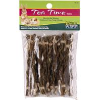 Ware Mfg - Tea Time Twist Wholesome Chew For Small Animals - Natural - 12 Piece
