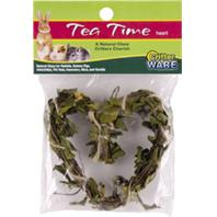 Ware Mfg - Tea Time Heart Natural Chew For Small Animals - Natural