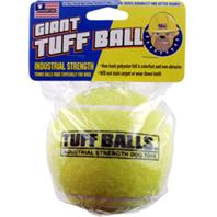 Petsport - Giant Tuff Ball Dog Toy - Yellow - 4 Inch