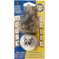 Petsport - Mouse Ball Cat Toy - Grey