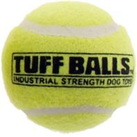 Petsport - Tuff Ball Bulk - Yellow - 1.8 Inch