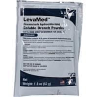 Durvet - Levamed Soluble Drench Powder Dewormer - White - 52 Gram