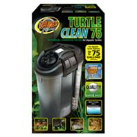 Zoo Med - Turtle Clean 75 External Canister Filter - Black - Up To 75 Gallon