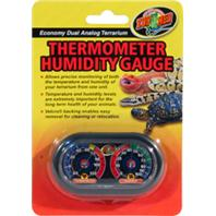 Zoo Med - Dual Analog Thermometer And Humidity Gauge - 0.05 lb(s)