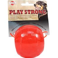 Ethical Dog - Play Strong Rubber Ball Dog Toy - Red - Medium