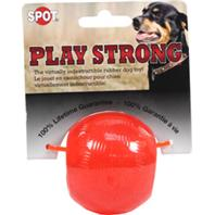 Ethical Dog - Play Strong Rubber Ball Dog Toy - Red - Small